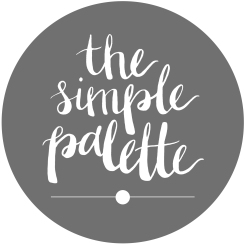The Simple Palette Etsy Logo without website