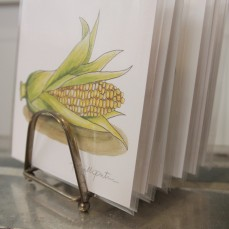 """So Corny"" Frameable Produce Print coming soon to thesimplepalette.etsy.com"